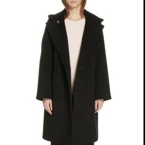 New with tags Vince hooded coat wool oversized sm